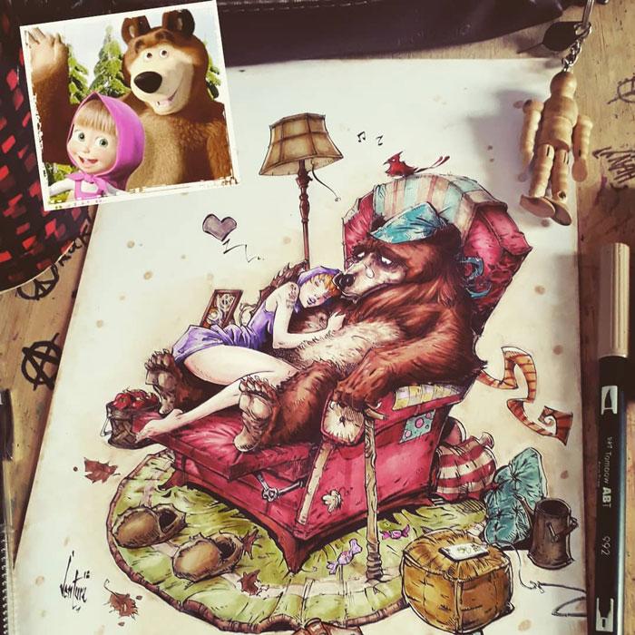 Masha & The Bear