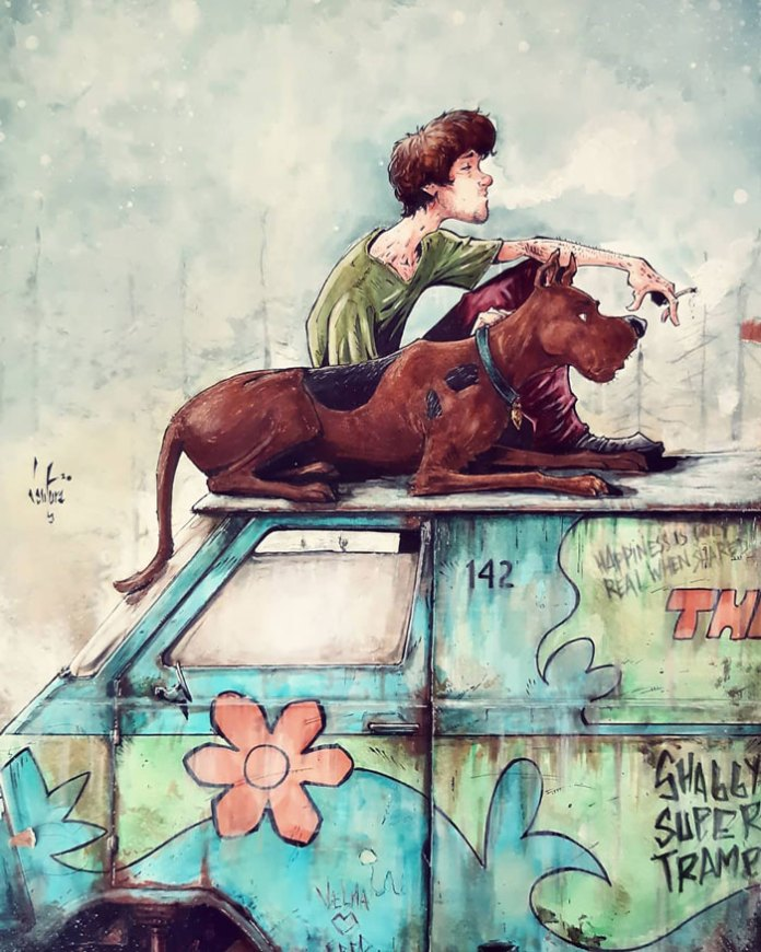 Scooby & Shaggy & Into The Wild