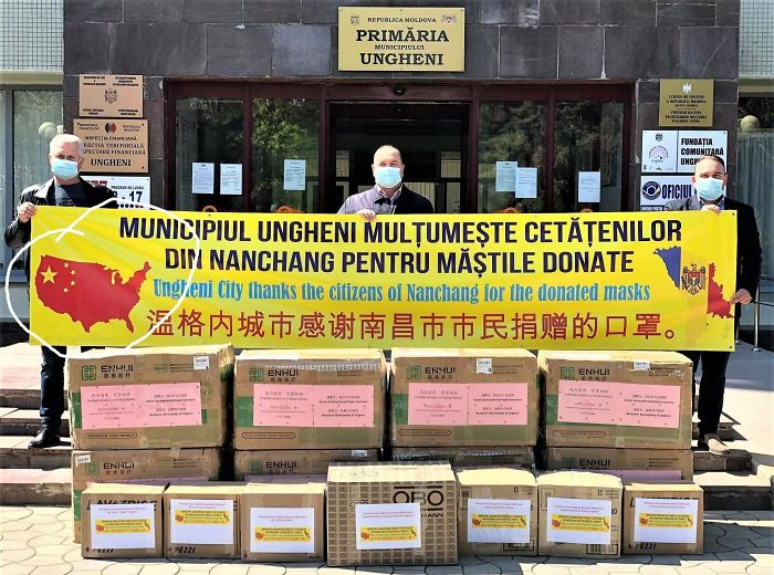 Moldova Is Feeling Very Thankful For All The Help Received From China In Battling The Coronavirus