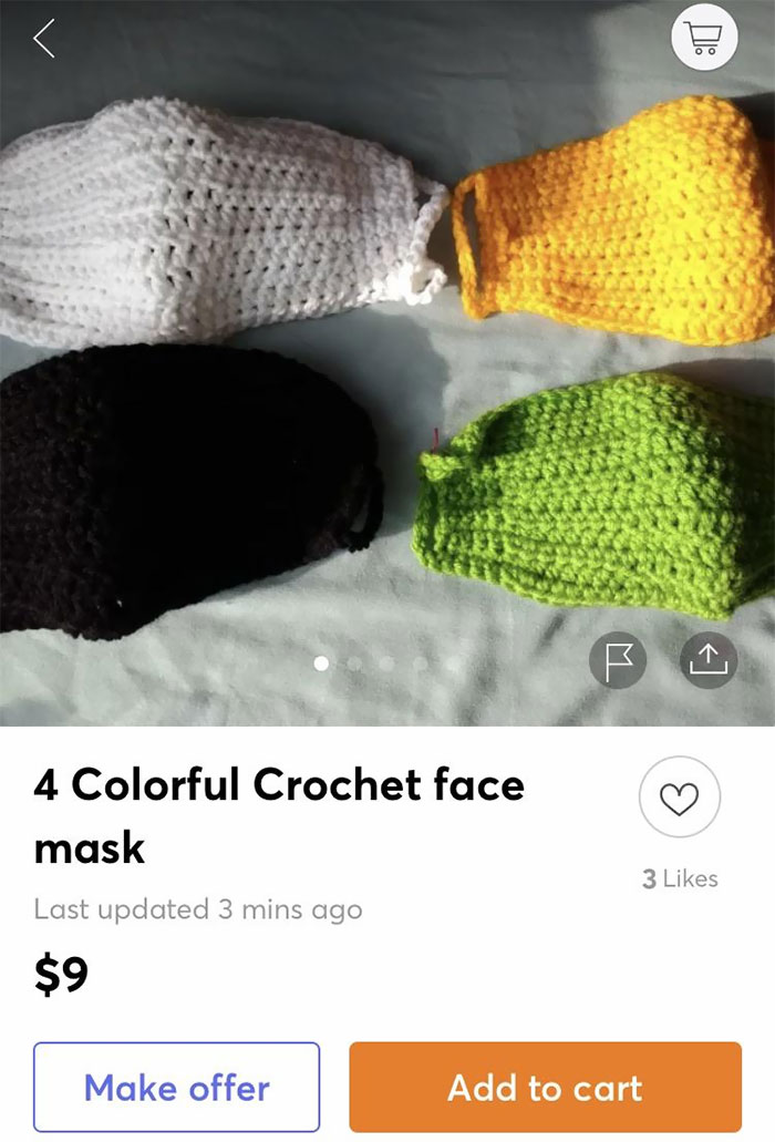 A Face Mask With Holes, What Could Go Wrong