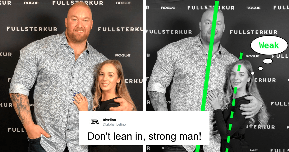 Twitter User Tells Males To Not Lean Into Their GFs Because It Makes Them Look Weak, Gets Called Out