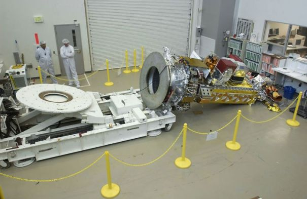 No Matter How Much You Screw Up, You'll Never Ever Have To Tell Your Boss: Sir, I Toppled That 290 Million Dollar Noaa-N Prime Satellite Right Onto The Shop Floor.