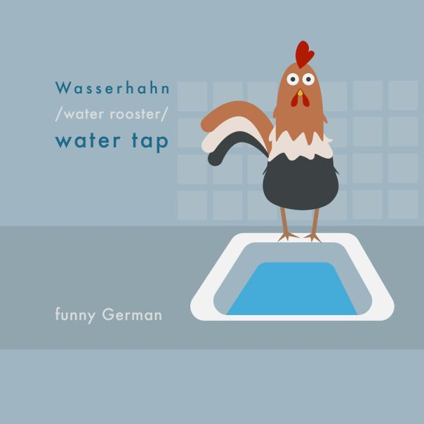 Next Time You Do The Dishes, Say Hello To The Water Rooster!