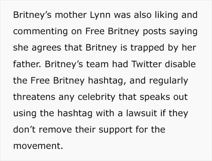 Britney Spears Breaks Silence, Tells Court She Wants Her Dad Removed From Being Her Conservator Of 12 Years
