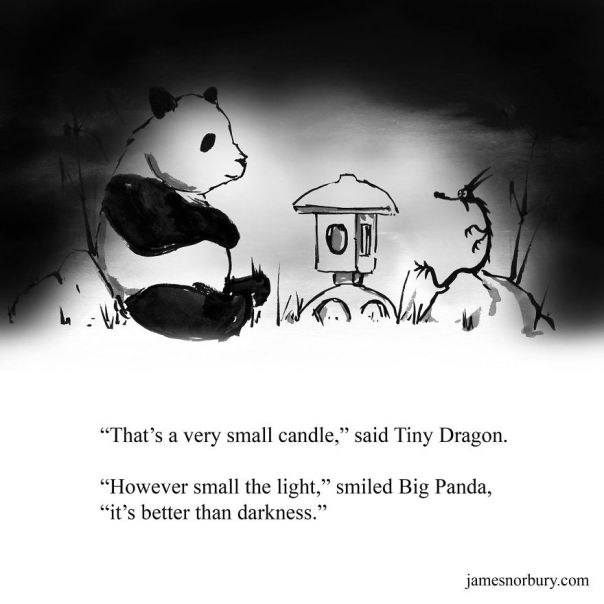 I Draw Dragons & Pandas To Spread Happiness