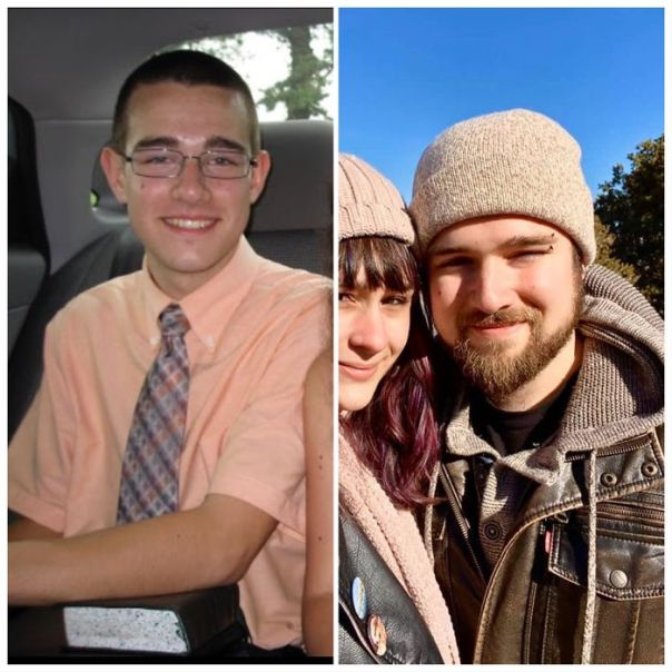 It's Amazing What Growing A Beard, Growing Up, Changing Your Style And Leaving A Cult Can Do For You! (2011 vs. 2020)