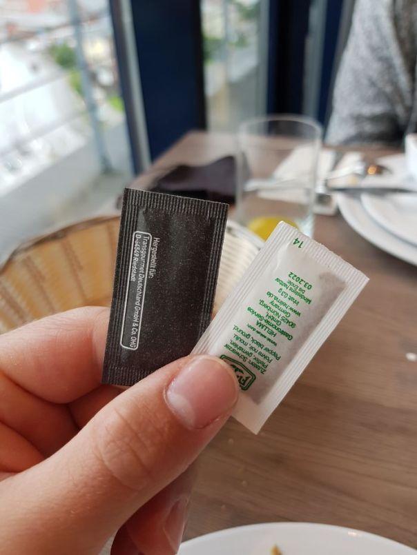 Black One Is Salt, White One Pepper