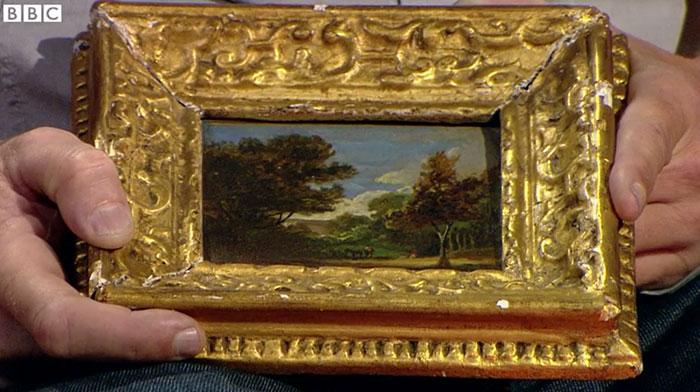 John Constable paintingworth $400K