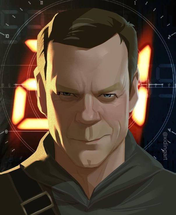 Kiefer Sutherland (Jack Bauer)