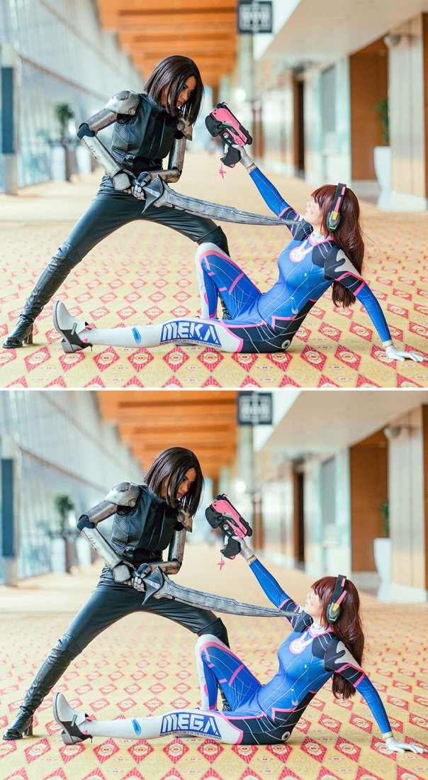 Cosplayers (11 Differences)