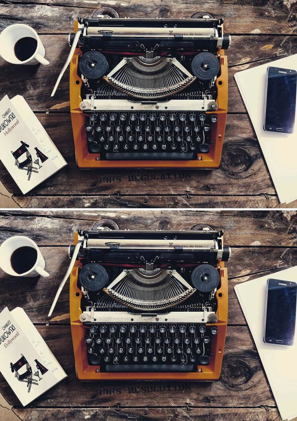 Typewriter (13 Differences)