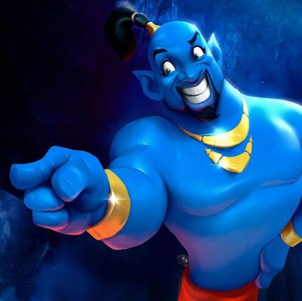 Will Smith (Genie From Aladdin)