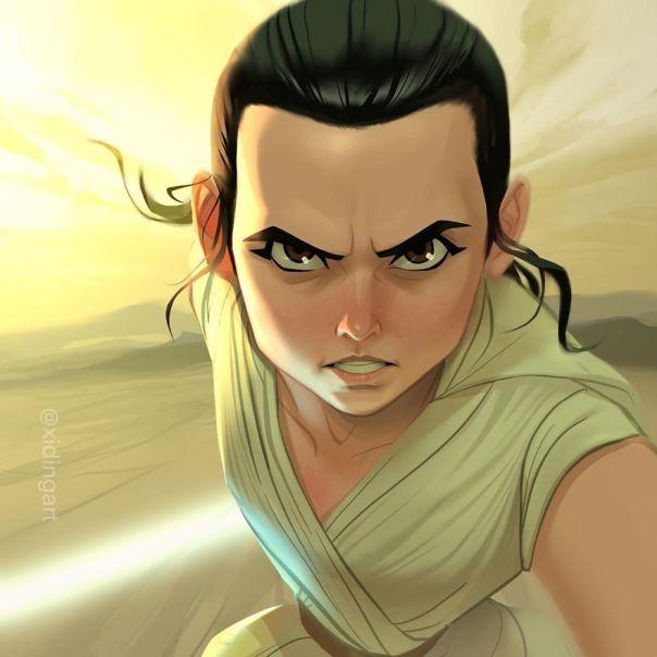Rey (Daisy Ridley)