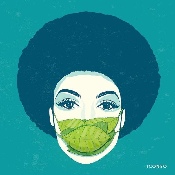Illustrations-Masks-Pandemic-Steffen-Kraft-Iconeo