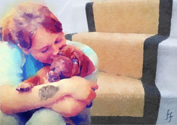 Naughty Niece Loves Doggie