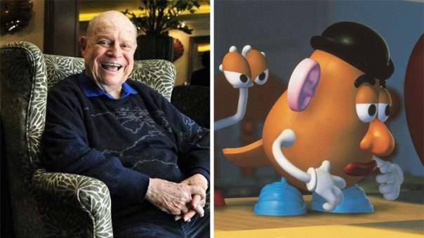 "In ""Toy Story 4,"" Mr Potato Head Is Voiced Posthumously By Don Rickles (Who Passed Away In 2017)"
