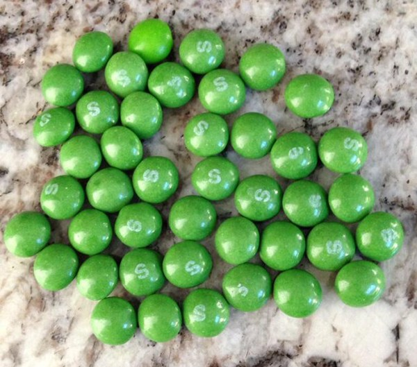 Lime-Flavored Skittles