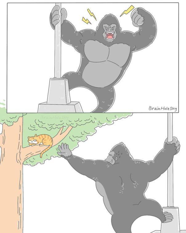 Simple-Short-Comics-Brainholesky