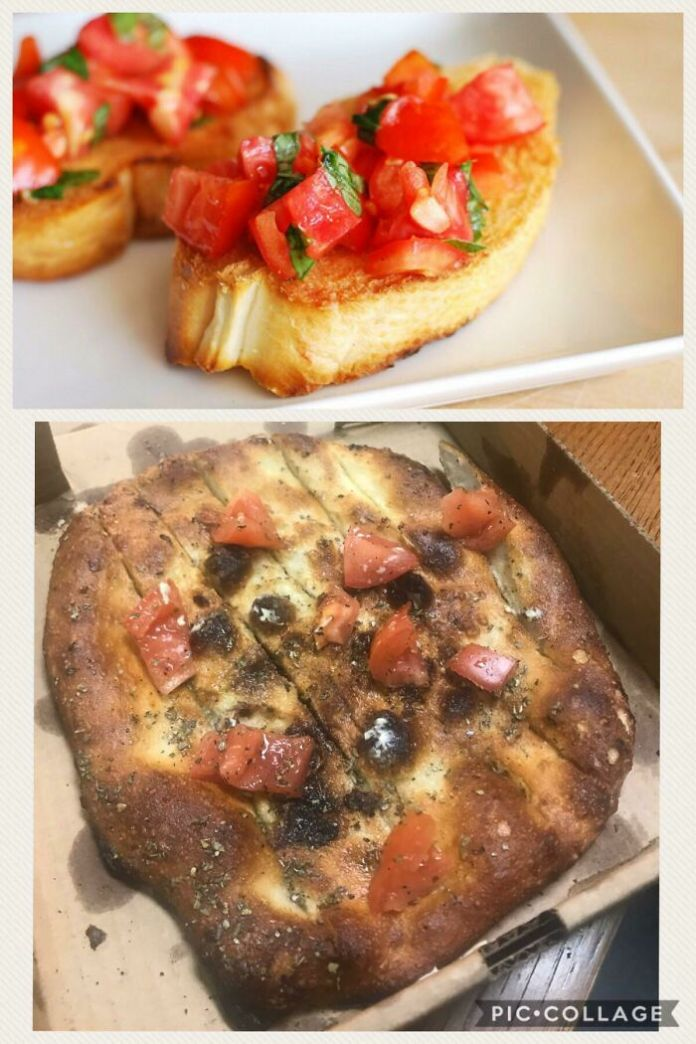 I Ordered Bruschetta From My Local Pizza Shop