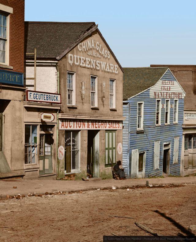 Kolorizirane fotografije kao prikaz strave robova u SAD-u 6