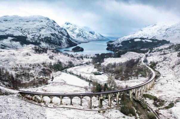 Classic View Highly Commended: Chris Gorman, 'Majestic Winter', Highland