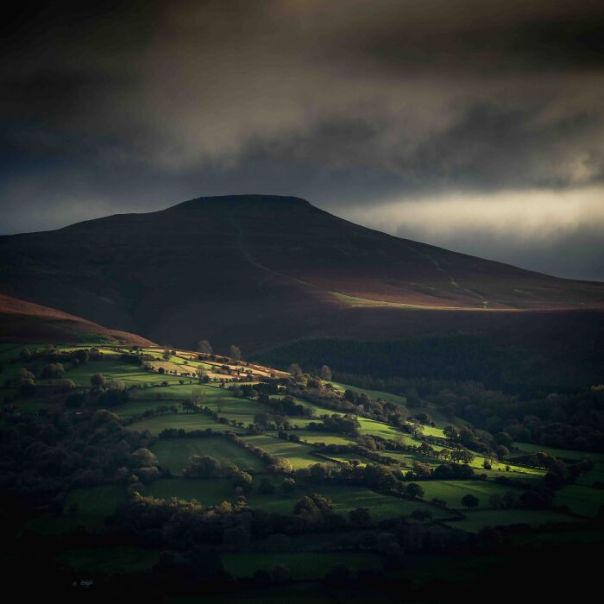 Classic View Commended: Drew Buckley, 'Sugarloaf', Brecon Beacons
