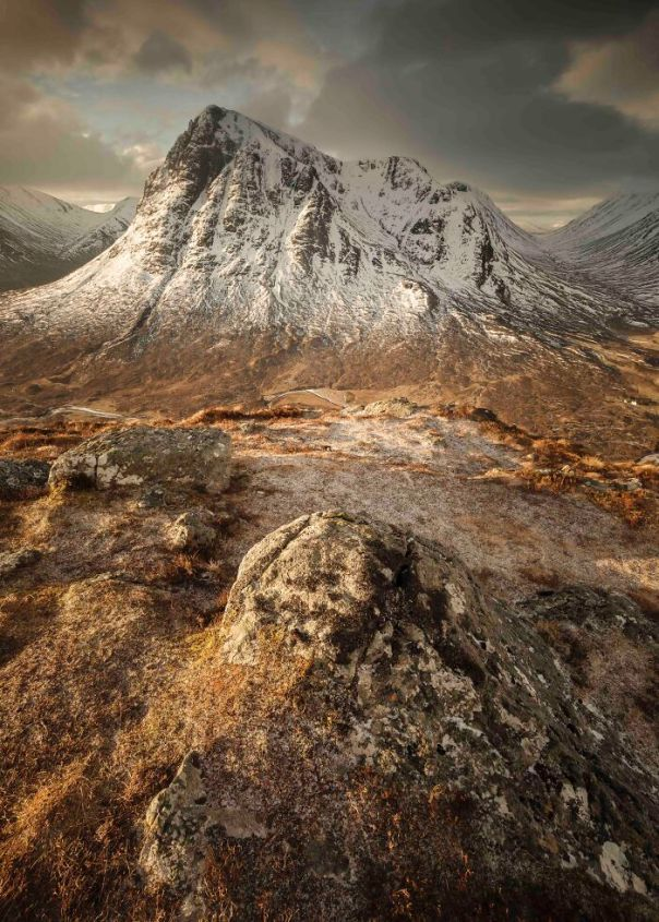 Your View Commended: Daniel Kenealy, 'Good Morning Buachaille Etive Mòr', The Highlands