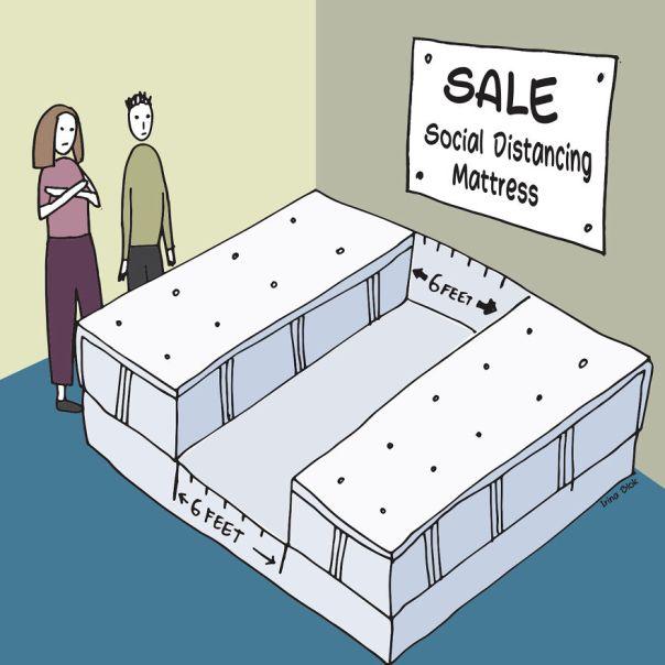 Social Distanced Matress
