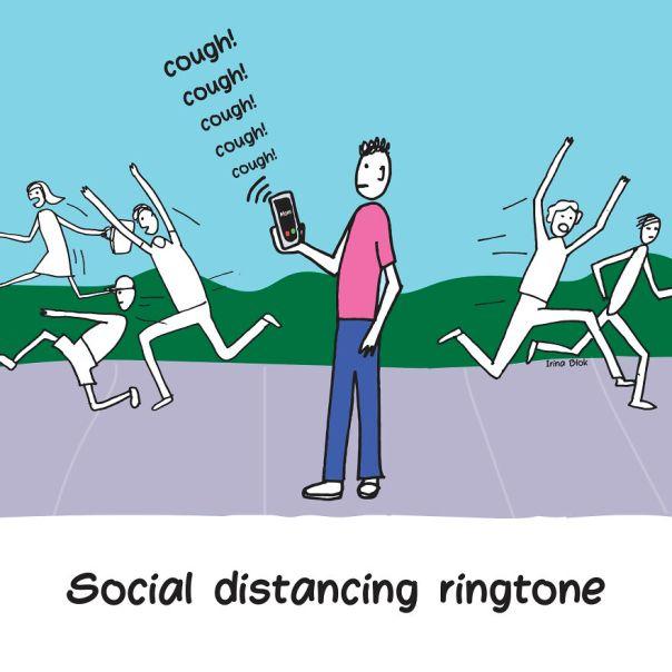 Social Distancing Ringtone