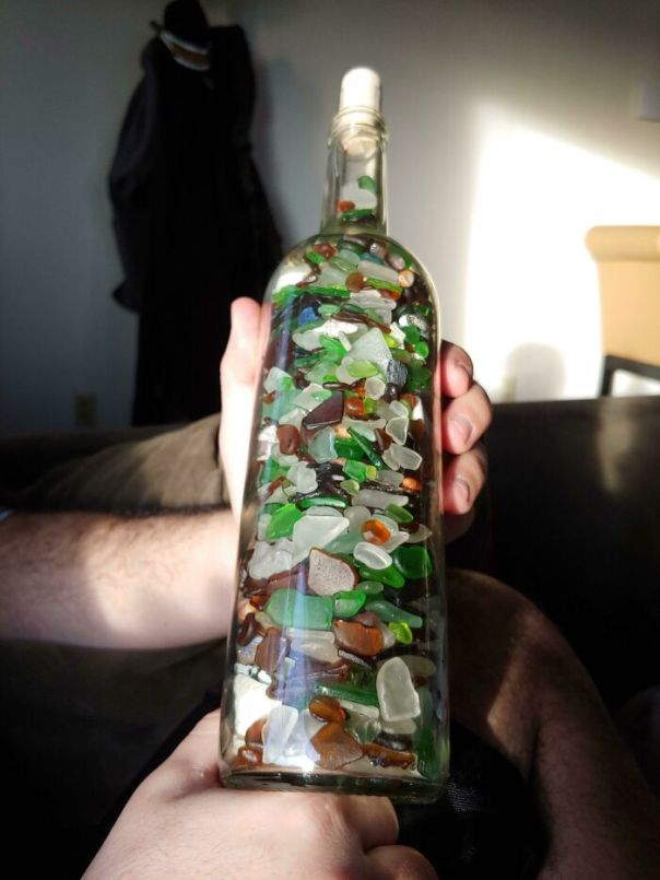 2 Years Of Collecting Sea Glass