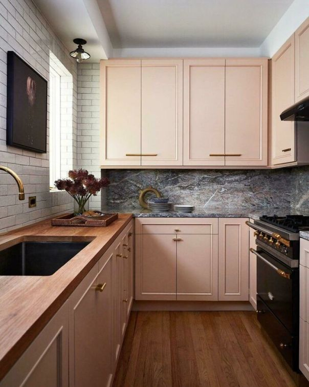 Kitchen In NY. Do You Like This Cabinet Color Or Nah?