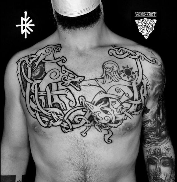 Collaboration Viking Tattoo