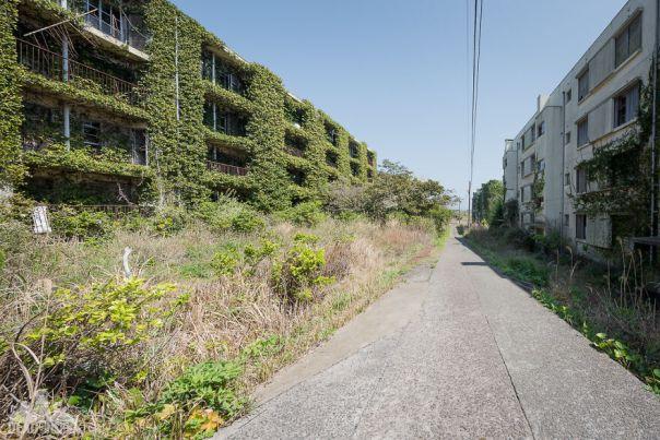 Arround Abandoned Ghost Island - Ikeshima, Japan