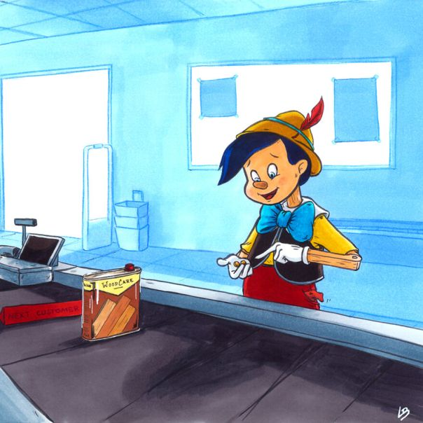 Pinocchio And Woodcare