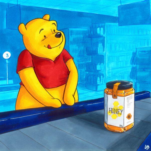 Winnie And Honey