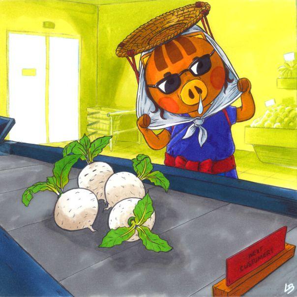 Daisy Mae And Turnips