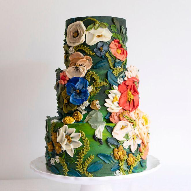 Golden Afternoon Cake