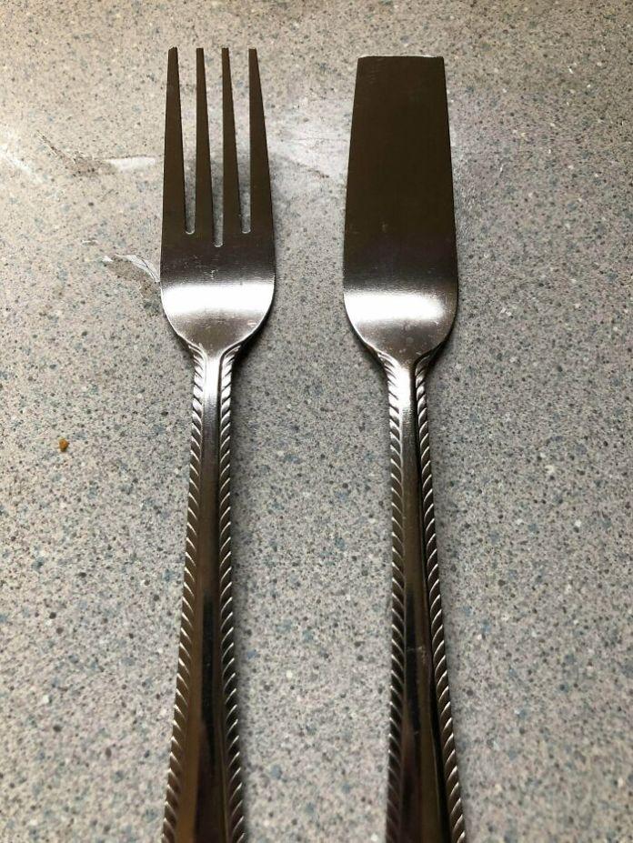 Uncut Fork