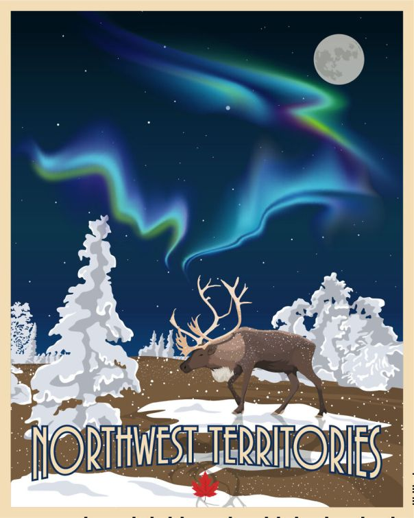 Northwest Territories , Cold , Wild And With The Most Gorgeous Northern Lights You Can Imagine