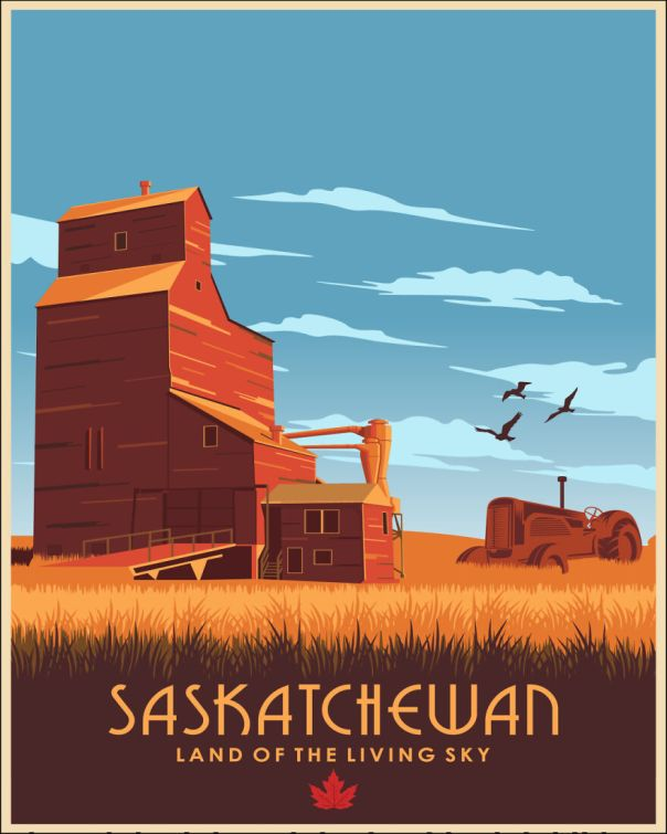 Saskatchewan For Some Might Sound Boring As It Is Indeed Flat, But Has So Many Fields And Open Sky So It Makes Up For The Lack Of Exciting Topography With The Night Stars