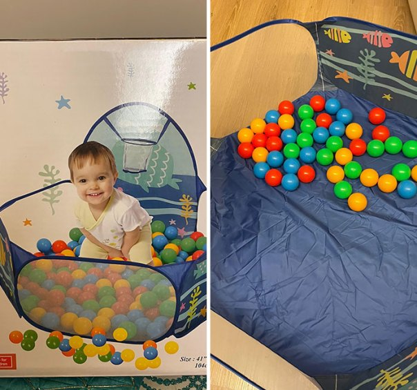 Bought A Ball Pit For My Baby
