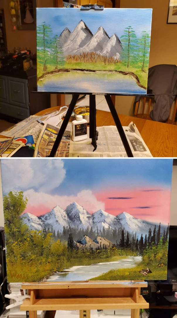 My Painting Progress In Over 4 Months