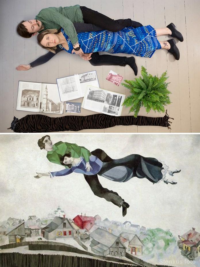"Marc Chagall ""Over Vitebsk"" (1913)"