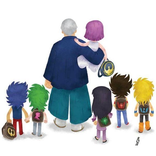 Saints Family