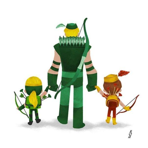 Green Arrow (Arrow Family)