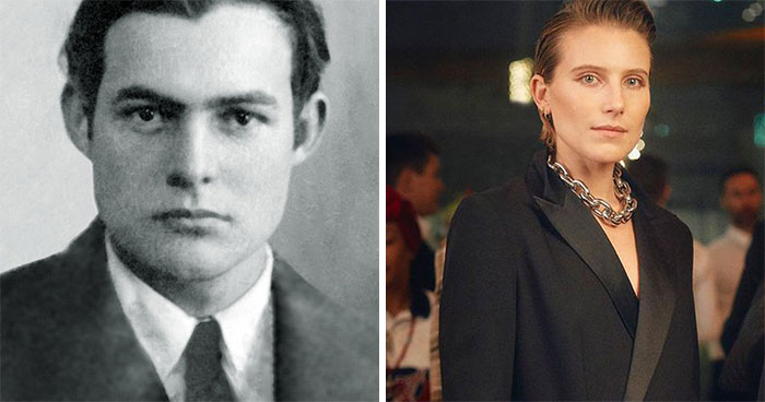 Ernest Hemingway And Dree Hemingway