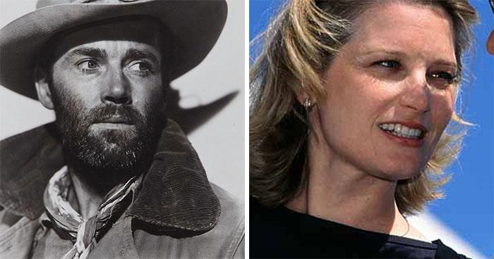 Henry Fonda And Bridget Fonda