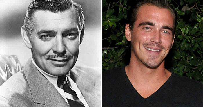 Clark Gable And Clark Gable III