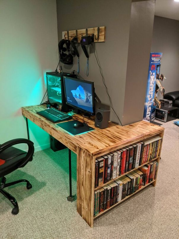 I Made An Inexpensive Desk