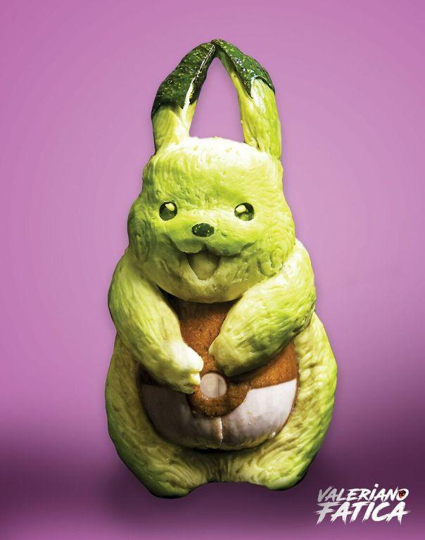 Pikachu – Avocado